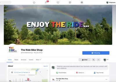 The Ride…Bike Shop